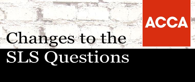 RAP New SLS Questions   OBU Changes 2021